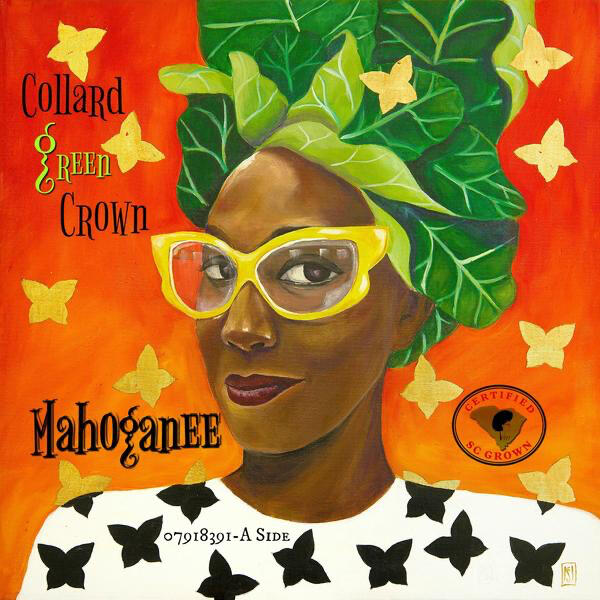 Collard Green Crown by Mahoganëë | Now Streaming